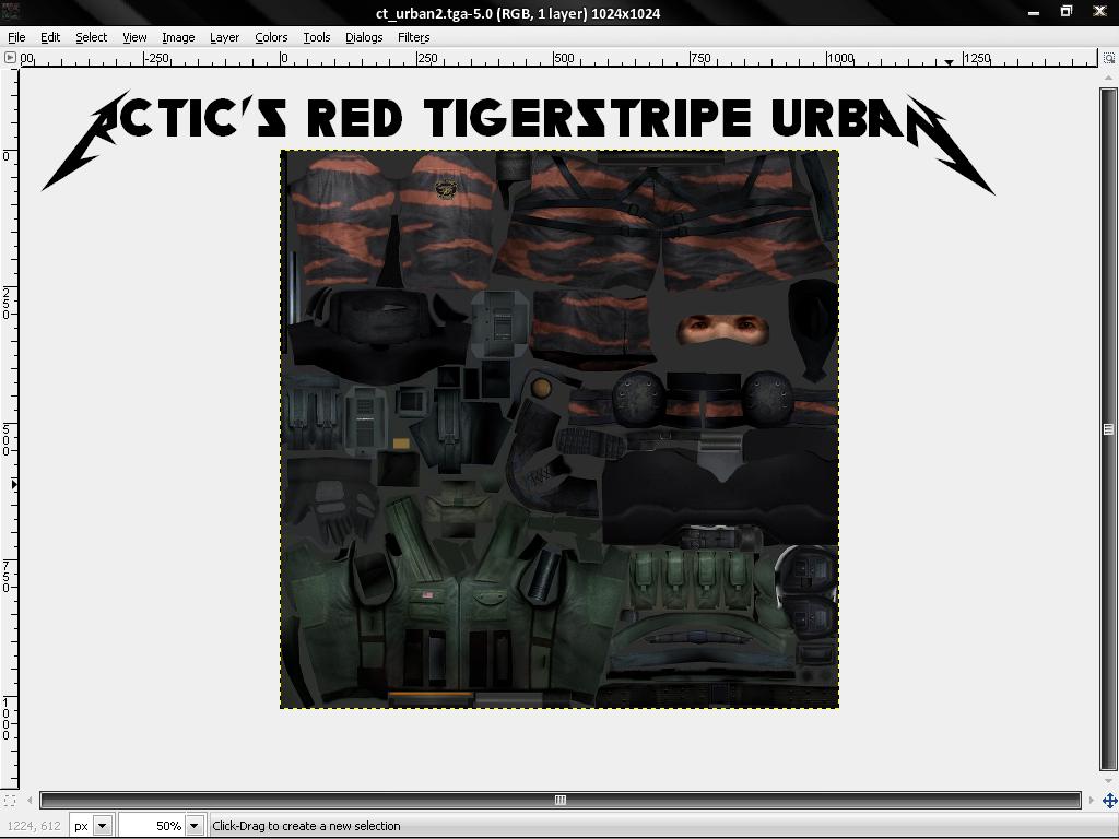 Rctic's tigerstripe urban