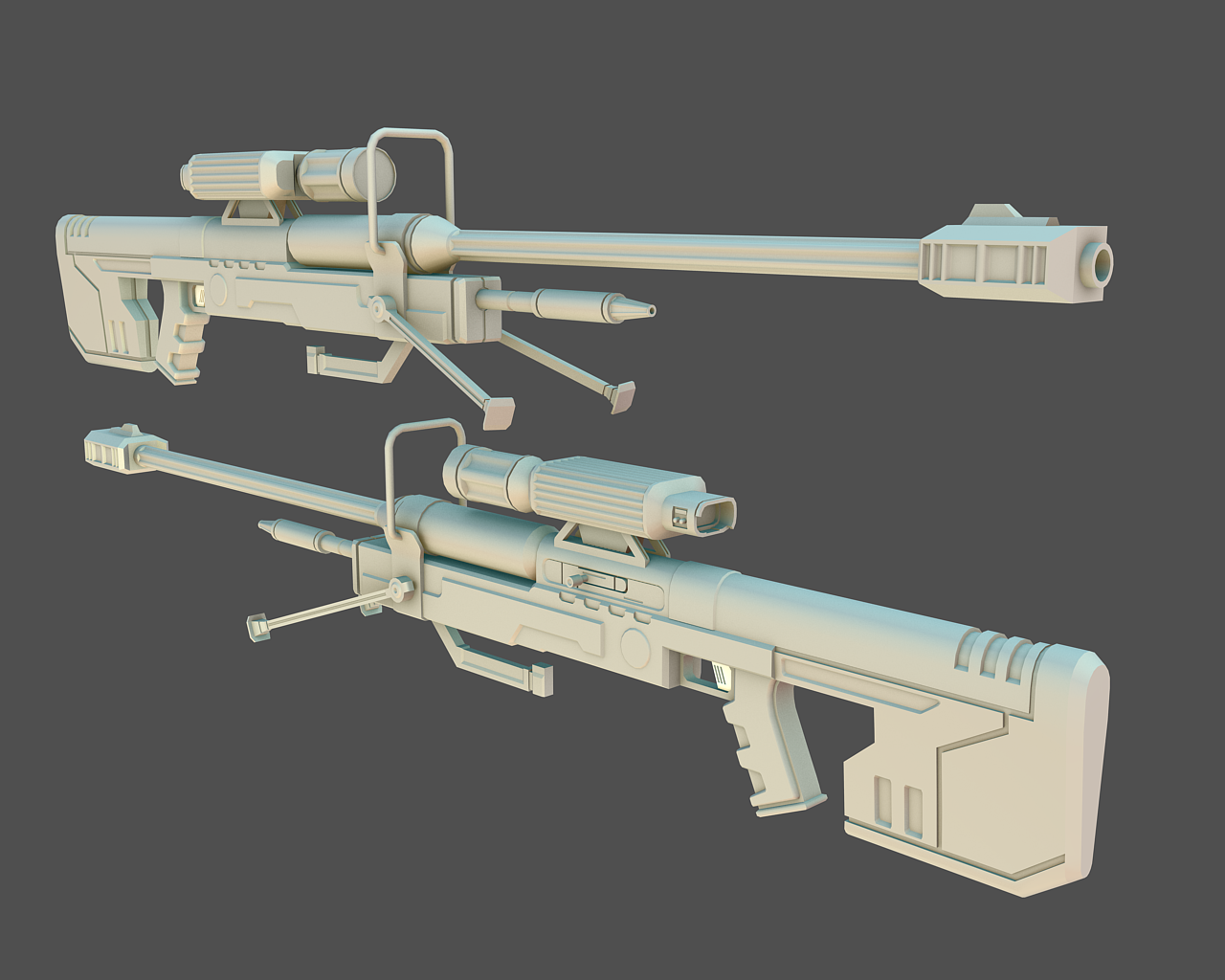 Halo 3 Sniper Rifle - SRS99D