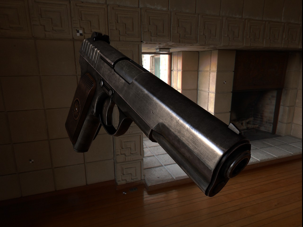 Tokarev TT Texturing (DONE) WiP screenshot #4