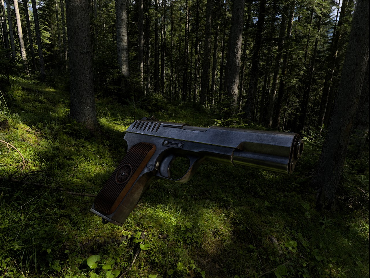 Tokarev TT Texturing (DONE) WiP screenshot #5