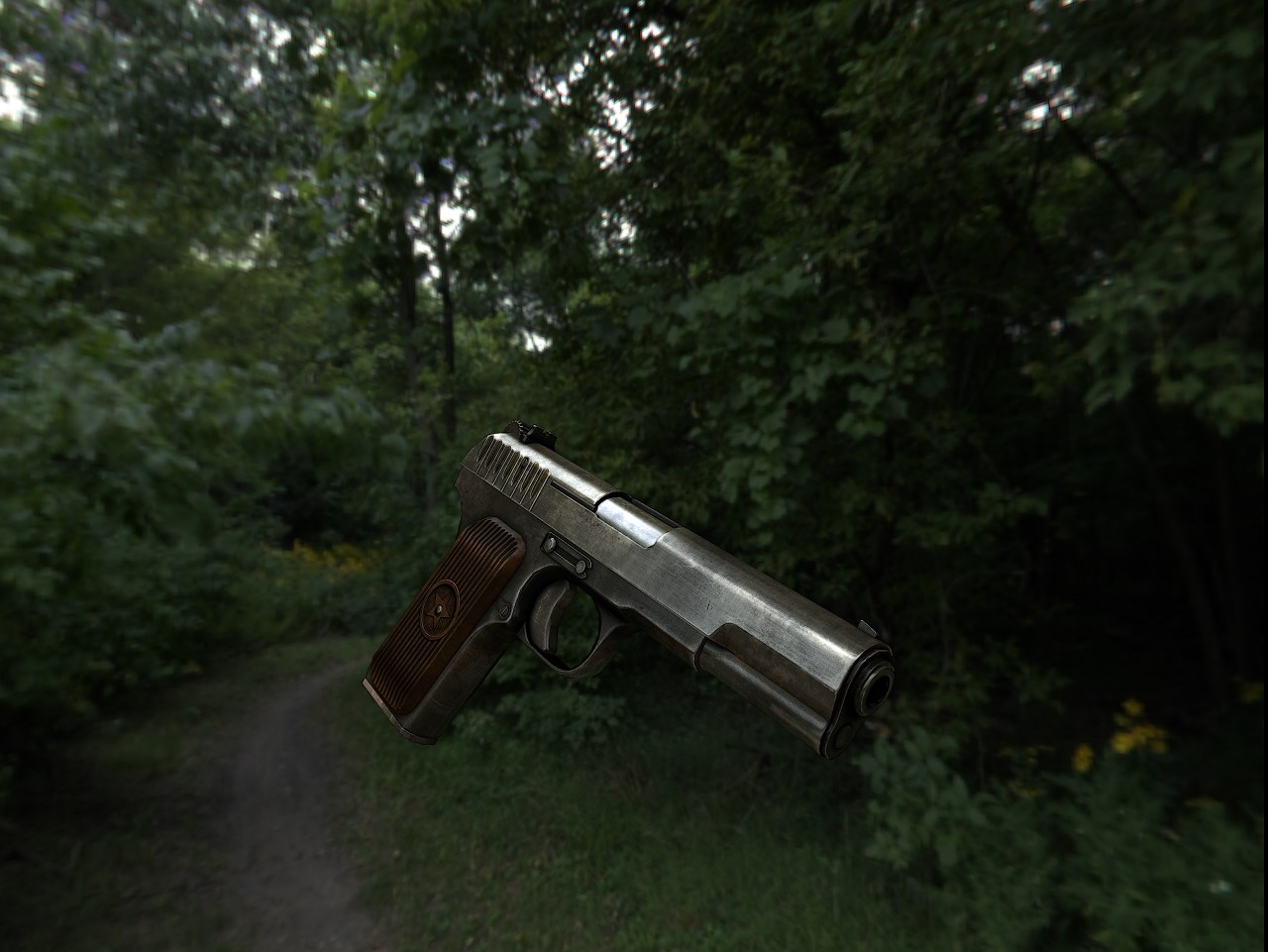 Tokarev TT Texturing (DONE) WiP screenshot #6