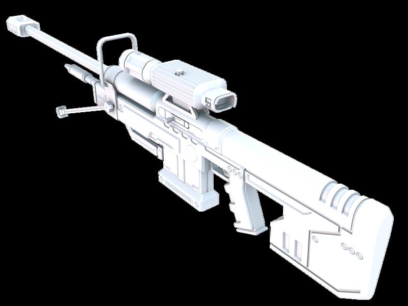 Halo 3 Sniper SRS99D