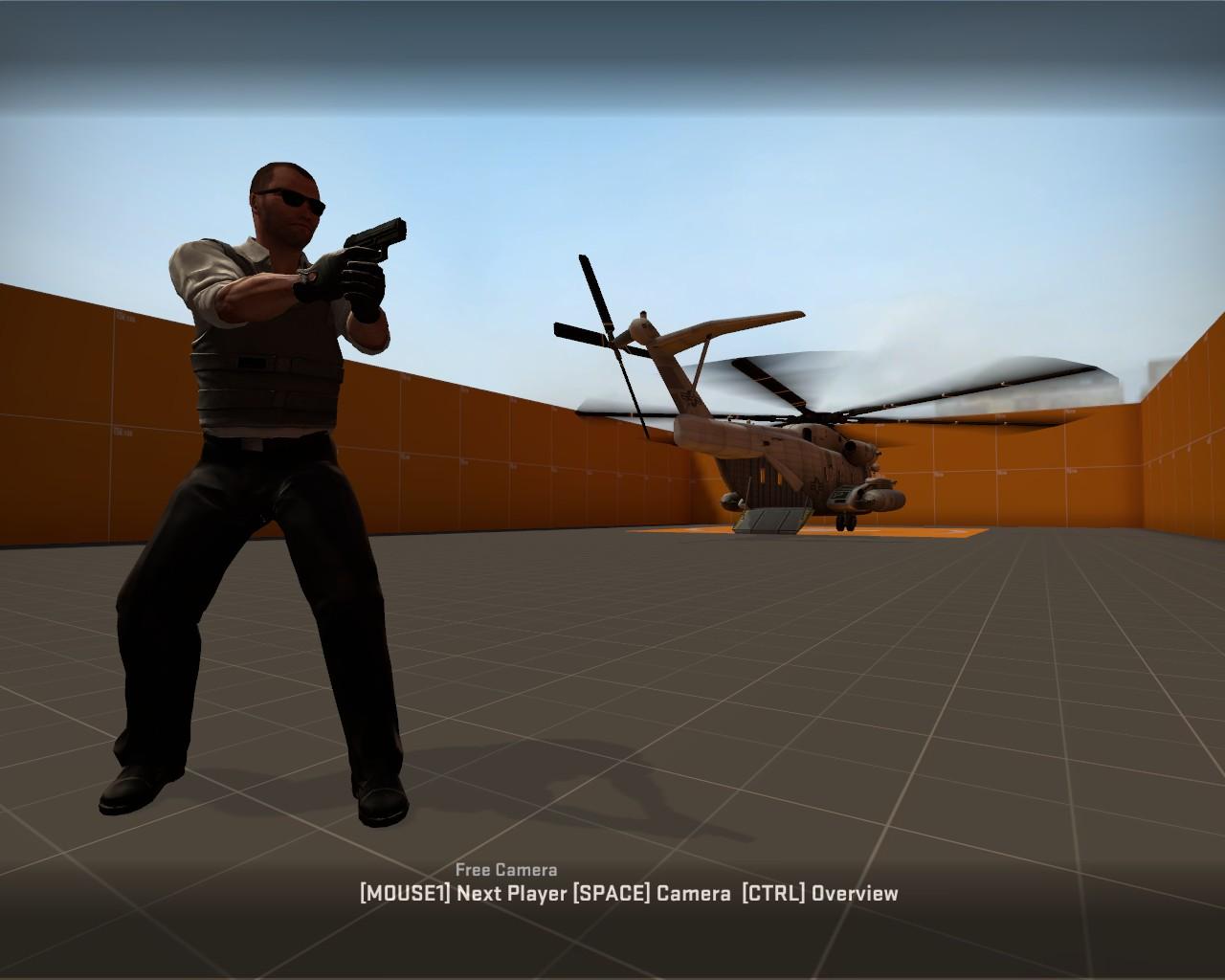 Assassination game mode WiP screenshot