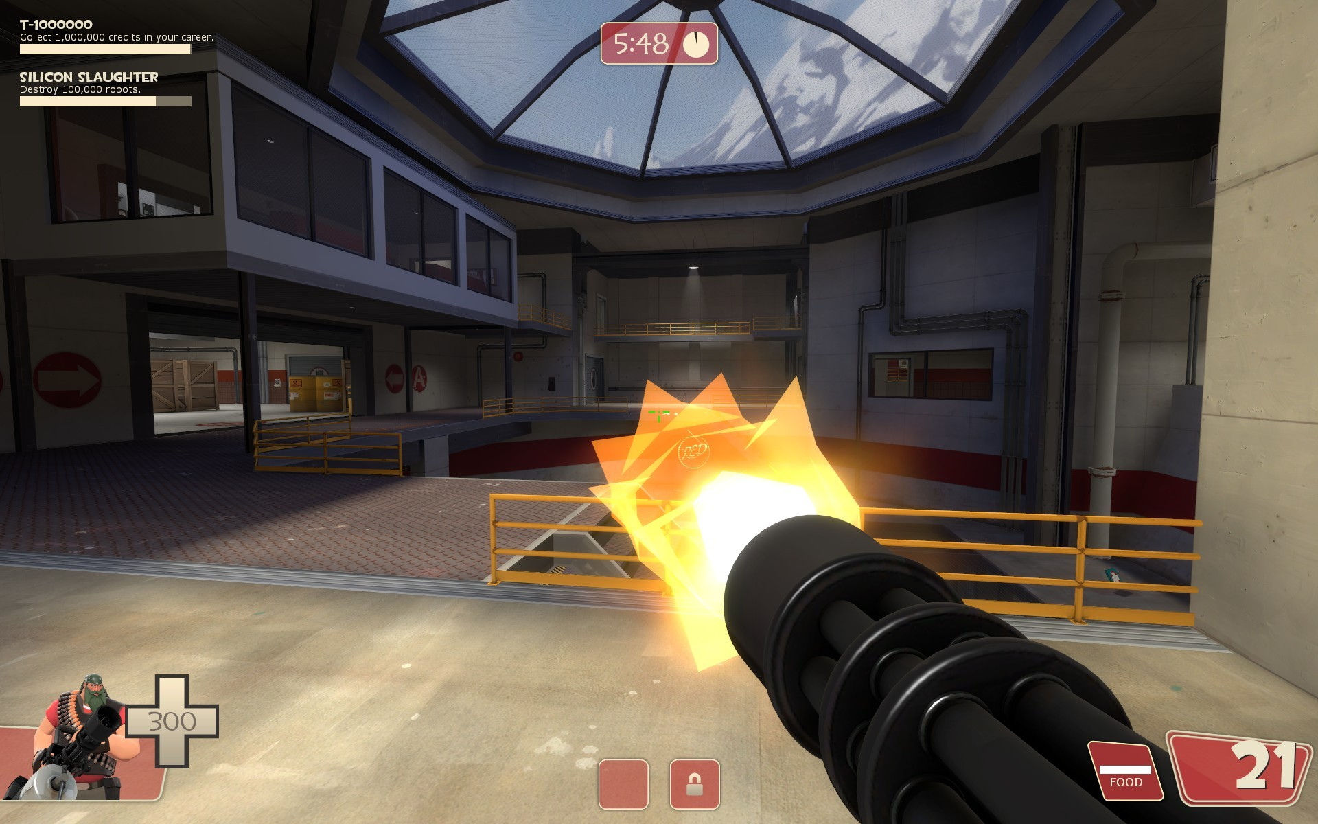 Tf2 Beta minigun muzzleflash restoration WiP screenshot #9