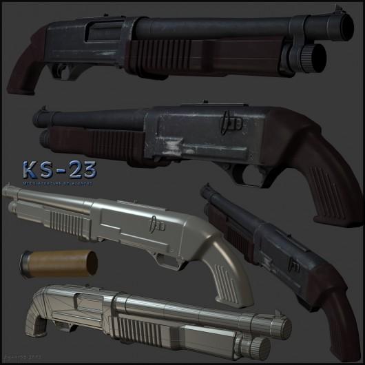 KS-23 WiP screenshot #1
