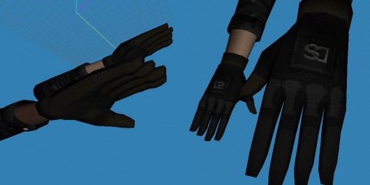 DarkShine Arms Retexture
