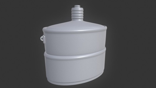 Flask troops