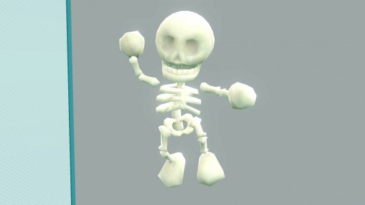 Skeleton Mario (Completed)