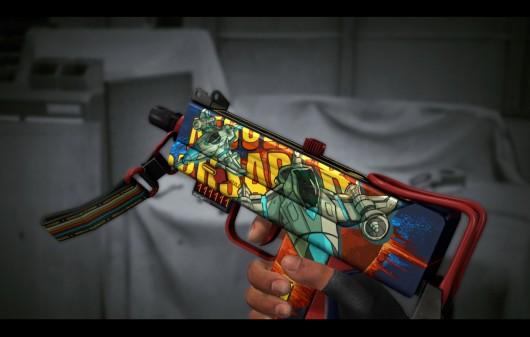 MAC 10 Skins Default Weapons