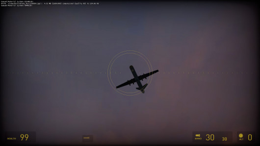 Predator drone prefab for Source