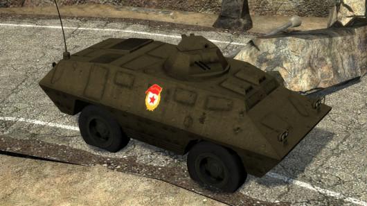 BRDM/BTR Texture for Beta APC