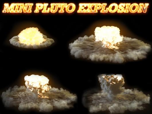 Mini pluto explosion
