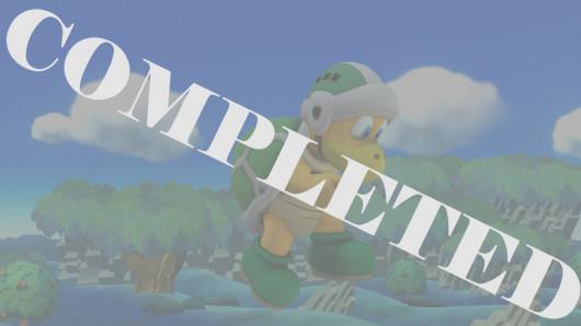 Hammer Bro over Mario