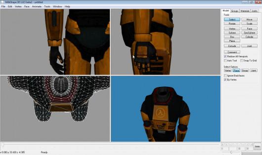 BM:S H.E.V suit