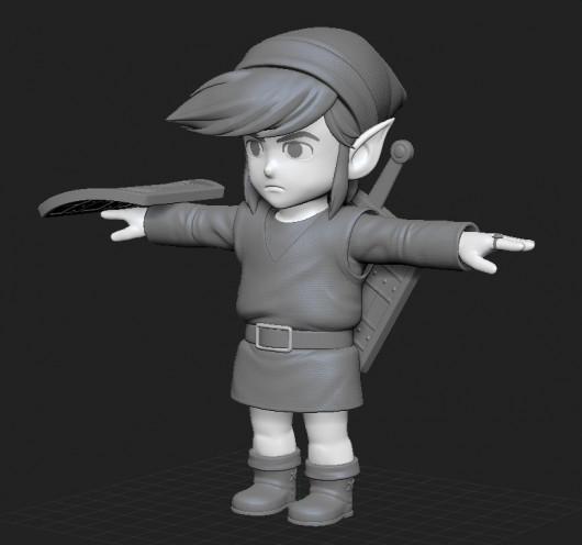 NES Link over Toon Link