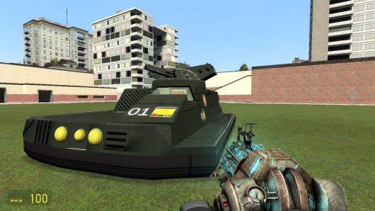 J Edgar Hovercraft SCar