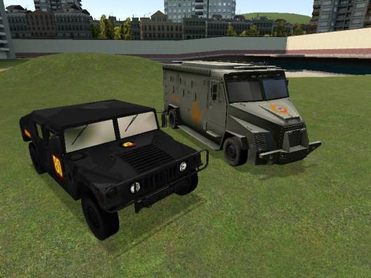 HL2 Inspired Vehicles