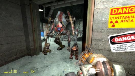 Half-Life 2 early Dog