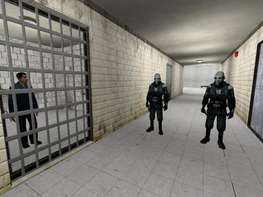 Prison Escape - Map for HL2