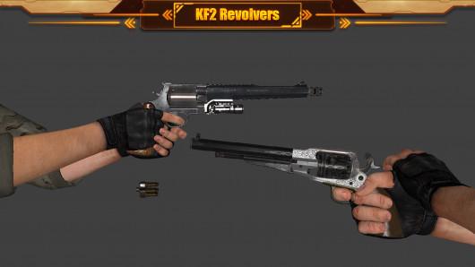 Killing Floor 2 Revolvers