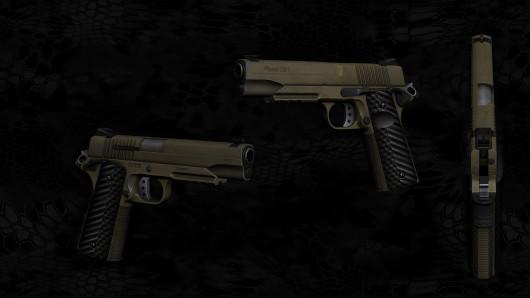 WIP - Seph's/Tigg Kimber Desert Warrior - Texture