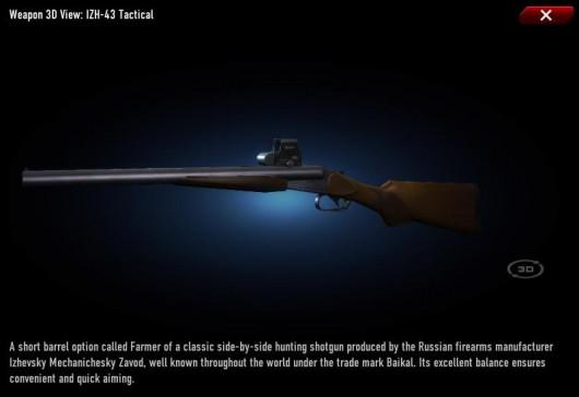 IZH 43 WAR-custom - Behemoth