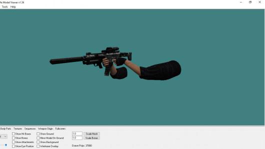 ACR-C War Custom-Seth SOPMOD + Ironsight Mod