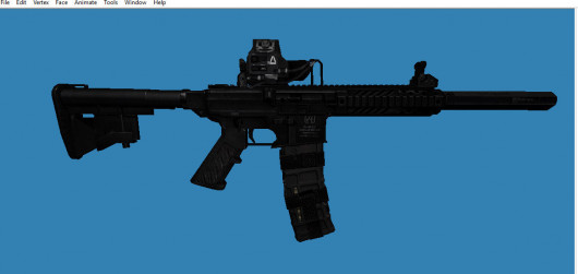 DBR AR-15 for SG552