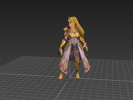 HW Zelda over Lucina