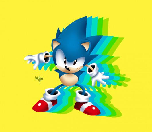 Toei Sonic Mania' art