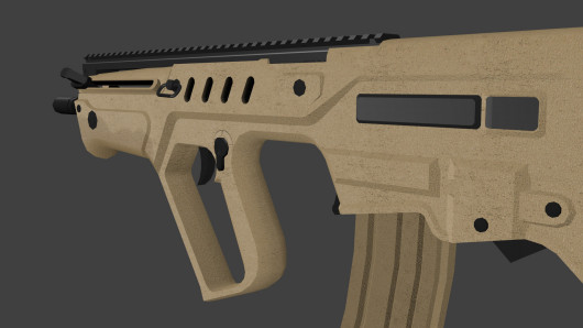 Render before changing the Picatinny rail.