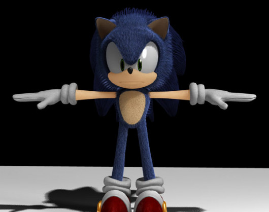 The GCI Model of Sonic used for the Fan/Spec Film this mod is based off of...