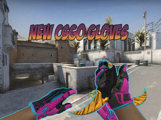 New CSGO Clutch Case Gloves