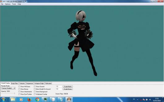 Nier : Automata | YoRHa 2B on 1.6