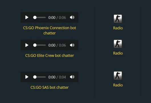 CS:GO radio for all factions