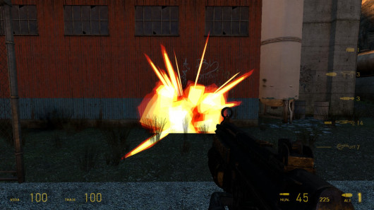 Team Fortress 2 Decals and Particles Style