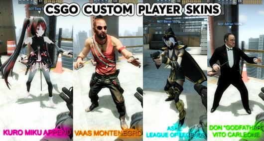 CSGO Custom player skins set