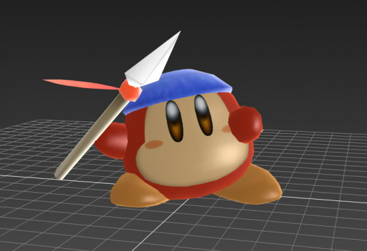 Bandana Waddle Dee (over ToonLink)