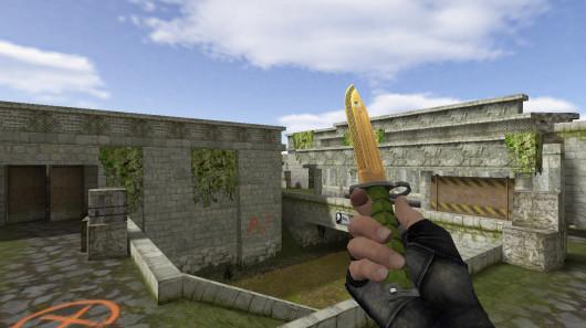 Remake: CS:GO HD Bayonet Skins
