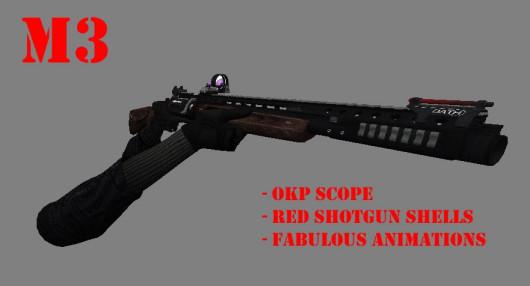 Revolver shotgun MTS-255