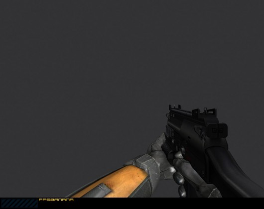 MP7A1 M203 for HL2