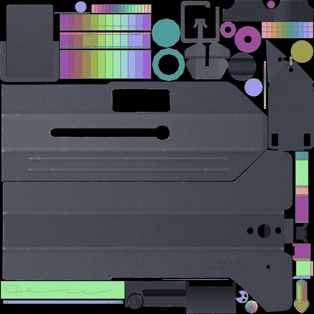 Cobray Mac 11/9 Texturing