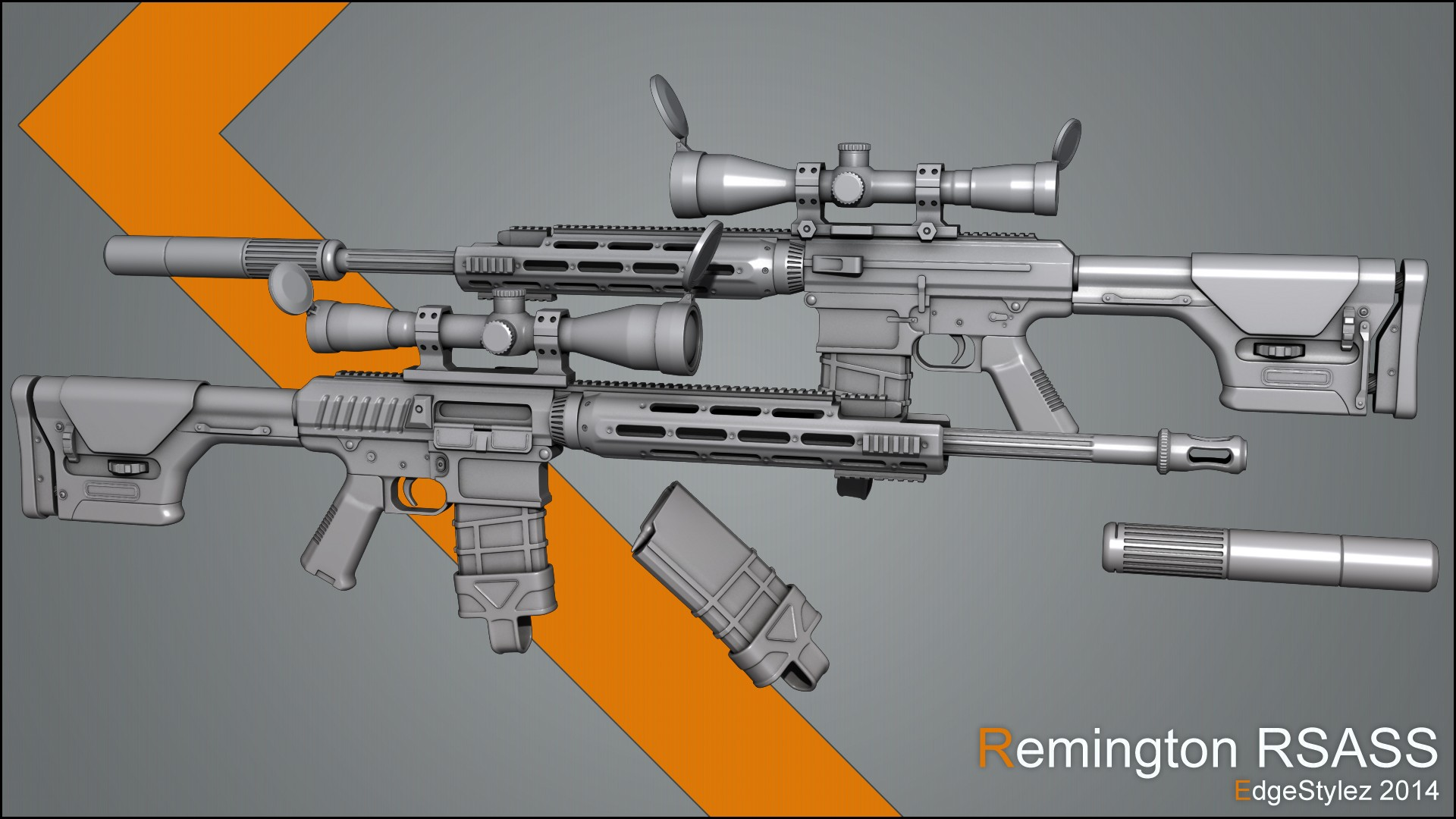 Remington RSASS [GameBanana] [Works In Progress]