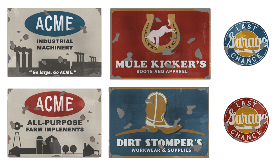 TF2 Sign Pack: Adverts