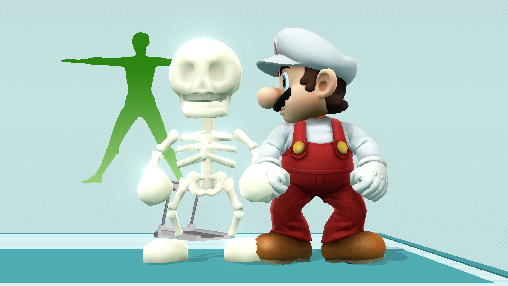 skeleton mario  completed   super smash bros for wii u super mario galaxy manuel wii super mario galaxy 2 manual