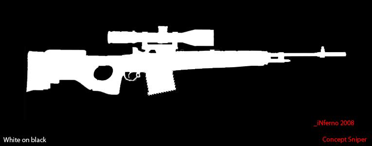 Concept sniper - M21 / AWM