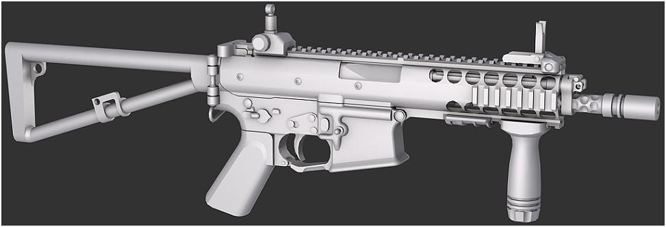 Knight's Armament PDW