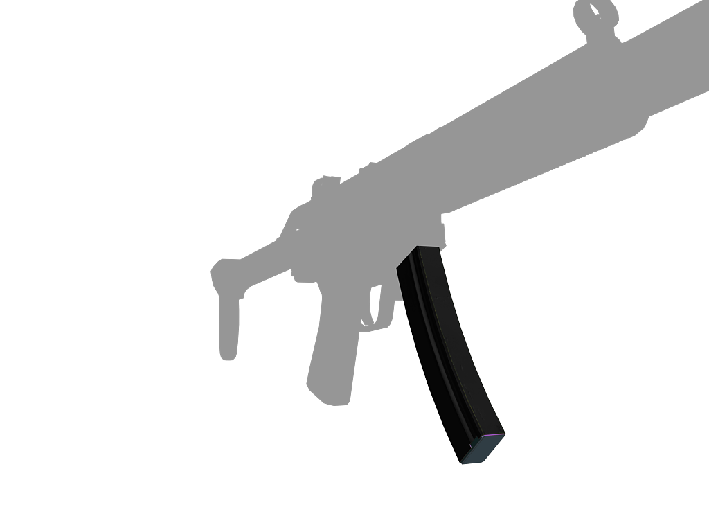 Texturing MP5SD