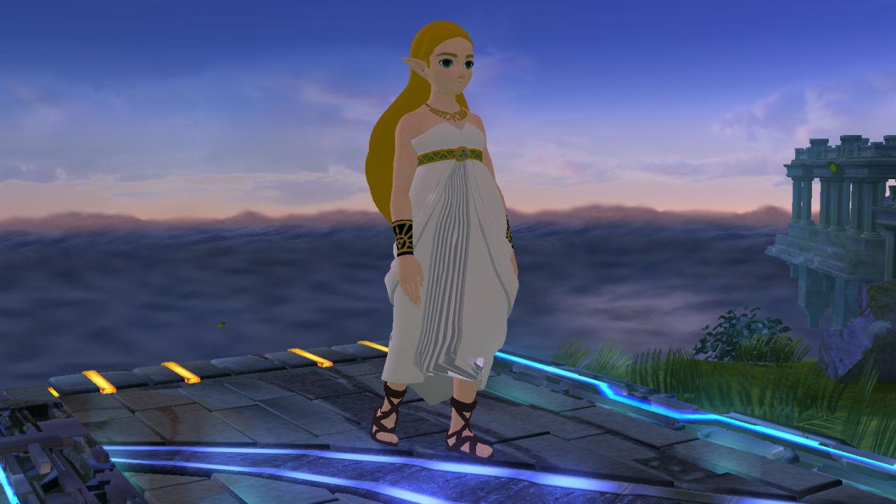 Zelda botw white dress