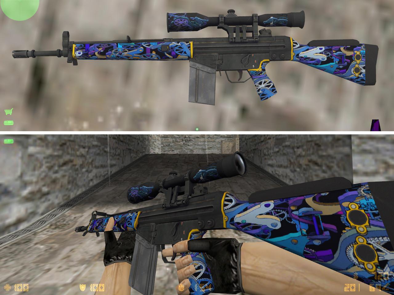 counter strike 1.6 g3sg1 skins